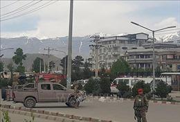 Đánh bom liều chết ở cổng Đại học Quốc phòng Marshal Fahim của Afghanistan