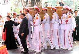 Cử hành trọng thể Lễ an táng nguyên Chủ tịch nước, Đại tướng Lê Đức Anh