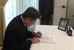 Tổng Thư ký ASEAN Lim Jock Hoi viếng nguyên Chủ tịch nước Lê Đức Anh