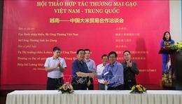 Thúc đẩy xuất khẩu gạo giữa Việt Nam và Trung Quốc