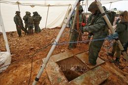 Israel phá hủy đường hầm xuyên biên giới trọng yếu của Hezbollah