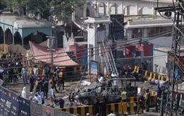 Nổ gần đền thờ Hồi giáo ở Pakistan, ít nhất 18 người thương vong