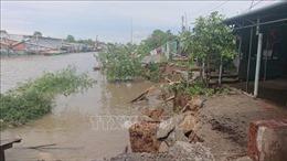 Ban bố tình trạng khẩn cấp sạt lở rạch Cái Sắn, thành phố Long Xuyên