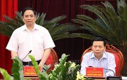 Trưởng Ban Tổ chức Trung ương làm việc tại tỉnh Bắc Ninh về công tác xây dựng Đảng