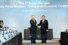 Việt - Hàn đạt nhiều thỏa thuận trong đối thoại kinh tế cấp Phó Thủ tướng lần đầu tiên