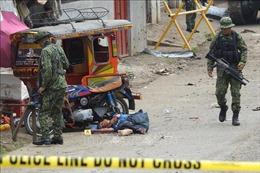 Đánh bom liều chết tại Philippines khiến 16 người thương vong