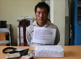 Đối tượng buôn ma túy sập bẫy mật phục của Công an Điện Biên