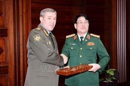 Tăng cường hợp tác quốc phòng Việt Nam - Liên bang Nga