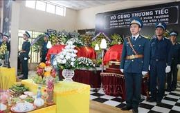 Tổ chức trọng thể lễ viếng và truy điệu hai phi công hy sinh tại Khánh Hòa