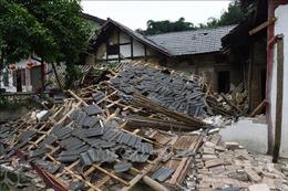 Gia tăng số người bị thương trong trận động đất tại Tứ Xuyên