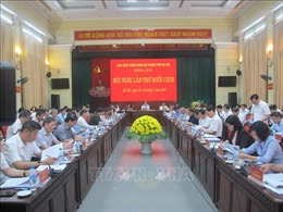 Khai mạc Hội nghị lần thứ 19 Ban Chấp hành Đảng bộ TP Hà Nội
