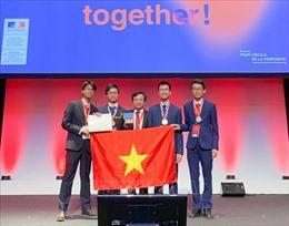 Việt Nam giành 2 Huy chương Vàng tại Olympic Hóa học quốc tế năm 2019