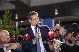 Phe đối lập giành chiến thắng trong cuộc bầu cử Quốc hội Hy Lạp