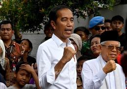 Tổng thống Joko Widodo chính thức tuyên bố thắng cử