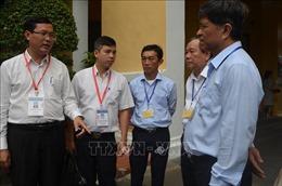 Kiểm tra công tác chấm thi THPT quốc gia tại TP Hồ Chí Minh