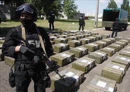 Ukraine thu giữ 400kg cocain trong đường dây buôn bán ma túy xuyên Đại Tây Dương