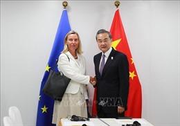 Trung Quốc và EU nhất trí bảo vệ thỏa thuận hạt nhân Iran