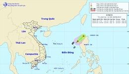Áp thấp nhiệt đới trên Biển Đôngsẽ suy yếu dần thành một vùng áp thấp