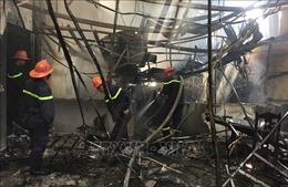 Cháy cửa hàng vật liệu xây dựng tại Cao Bằng gây thiệt hại hàng tỷ đồng