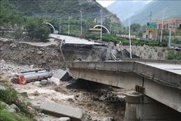 Mưa lớn dồn dập tại Trung Quốc, ít nhất 7 người thiệt mạng