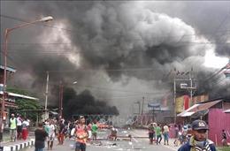 Bạo loạn bùng phát tại tỉnh Papua, Indonesia