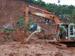 Tìm thấy thi thể ba nạn nhân trong một gia đình bị sạt lở đất vùi lấp ở Đắk Nông