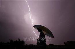 Trú mưa dưới một cái ô, ba người trong một gia đình bị sét đánh tử vong