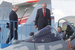 Tổng thống Putin mời Tổng thống Thổ Nhĩ Kỳ 'ngắm' buồng lái Su-57