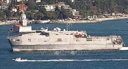 Tàu vận tải viễn chinh Mỹ vào Biển Đen