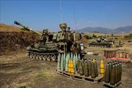 Israel pháo kích trả đũa vụ bắn tên lửa của Hezbollah