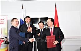 Việt Nam - Nga coi trọng hợp tác dầu khí