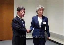 Nhật - Hàn nhất trí tiếp tục đối thoại giải quyết căng thẳng
