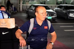 Vòng loại World Cup 2020: Thày trò Park Hang-seo đã tới Bangkok