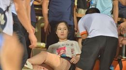 Lãnh đạo đội bóng Nam Định lên án vụ đốt pháo sáng trên sân Hàng Đẫy