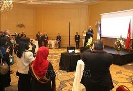 Đại sứ quán Việt Nam tại Argentina tổ chức lễ kỷ niệm 74 năm ngày Quốc khánh 2/9