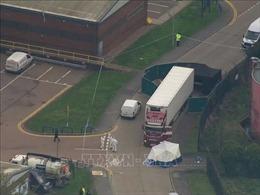 Đang xác minh danh tính 39 nạn nhân chết trong container ở Anh
