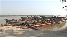 'Sa tặc' vẫn hoành hành trên sông Cầu, sông Đuống