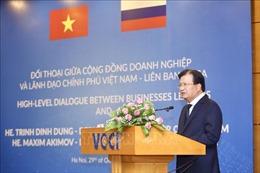 Đối thoại doanh nghiệp và lãnh đạo Chính phủ Việt Nam - Liên bang Nga