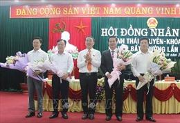 Ông Lê Quang Tiến làm Phó Chủ tịch UBND tỉnh Thái Nguyên