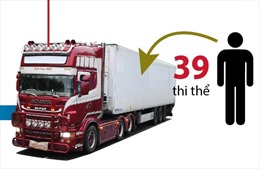 Toàn cảnh vụ 39 thi thể trong container tại Anh