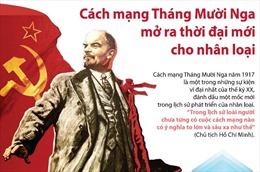 Cách mạng Tháng Mười Nga mở ra thời đại mới cho nhân loại