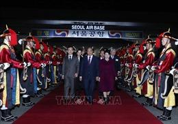 Thủ tướng kết thúc tốt đẹp chuyến tham dự 2 hội nghị cấp cao và thăm chính thức Hàn Quốc