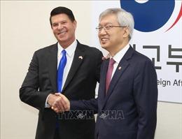 Hàn Quốc và Mỹ tiến hành Đối thoại kinh tế cấp cao