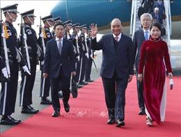 Thủ tướng bắt đầu chương trình tham dự Hội nghị cấp cao kỷ niệm 30 năm Quan hệ đối thoại ASEAN - Hàn Quốc
