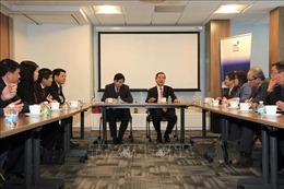 Trưởng ban Kinh tế Trung ương làm việc với Phái đoàn thường trực Việt Nam tại Liên hợp quốc
