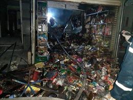 Cháy tiệm tạp hóa vừa nhập đầy hàng Tết, chủ tiệm tử vong