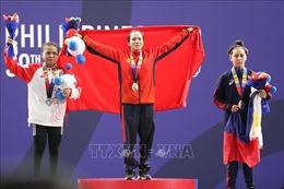 Cử tạ mang về HCVthứ 3 cho Thể thao Việt Nam