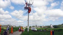 Một công nhân bị điện giật tử vong khi thi công đường dây 22kV
