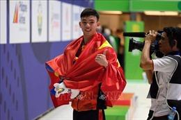 Nguyễn Huy Hoàng phá kỷ lục SEA Games bơi 400 m tự do nam