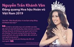 Nguyễn Trần Khánh Vân - Hoa hậu Hoàn vũ Việt Nam 2019
